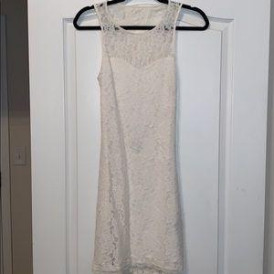 Express White lace dress